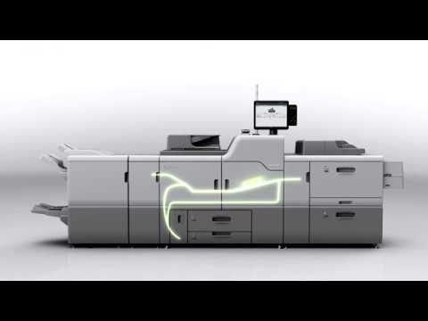 The Pro™ C7200 series of digital sheet fed colour presses